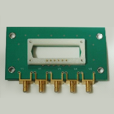 <p>RF driver board with SMB connectors</p>