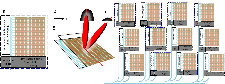 Schematic of proposed aperture array